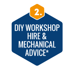 DIY workshop hire & mechanical advice